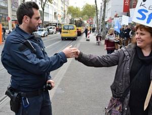 Polizei Hand